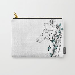 Poetic Giraffe Carry-All Pouch