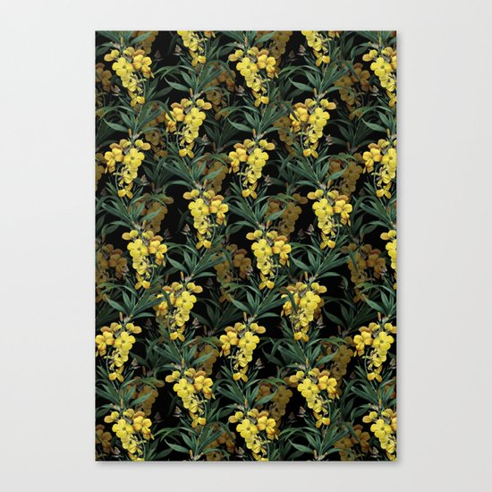 Ivy night Canvas Print