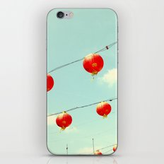 Lanterns III, Chinatown iPhone & iPod Skin