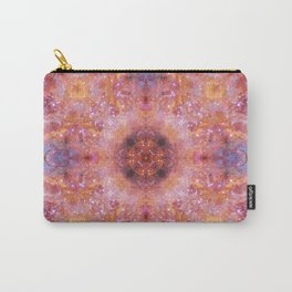 Cosmic Light Mandala Carry-All Pouch