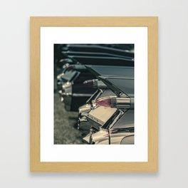 Caddy Fins Framed Art Print