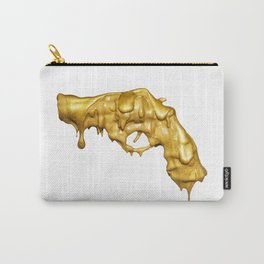 BLOODY GOLD GUN Carry-All Pouch