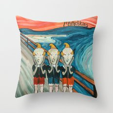 Munchkins Throw Pillow
