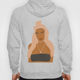 Abstract Woman Portrait Hoody