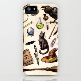 Witching Essentials iPhone Case