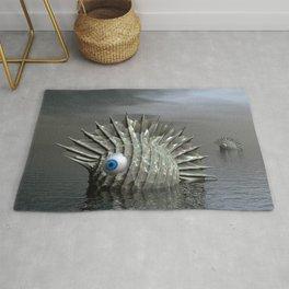 Sea Monsters Rug