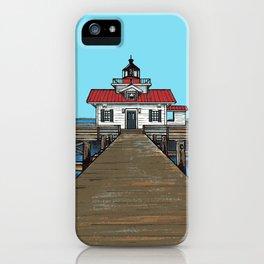 Roanoke Island Lighthouse iPhone Case
