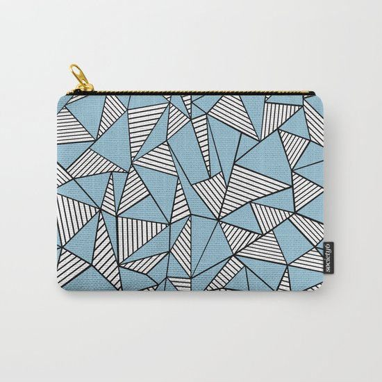 Ab Blocks Blue #2 Carry-All Pouch