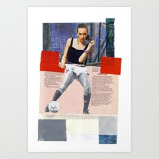 Football Fashion #11 Art Print