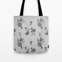 wallpaper Tote Bags featuring WallpAper by  Wiipo
