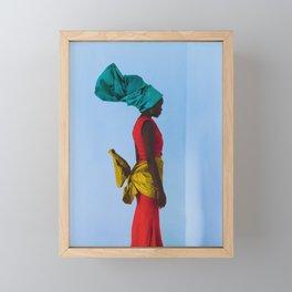 Her Sky. Framed Mini Art Print
