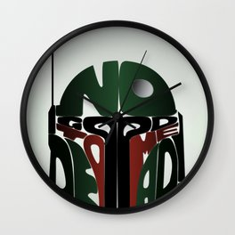 He's No Good To Me Dead! Wall Clock