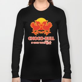 Final Fantasy VII - Choco-Bull Energy Drink Long Sleeve T-shirt