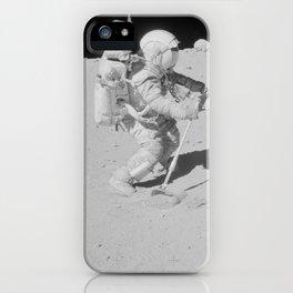 Apollo 16 - Collecting Lunar Samples iPhone Case