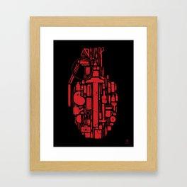 Create & Destroy Framed Art Print