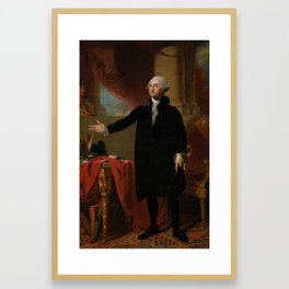 George Washington Lansdowne Portrait Framed Art Print