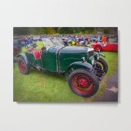 Riley Classic Car Metal Print