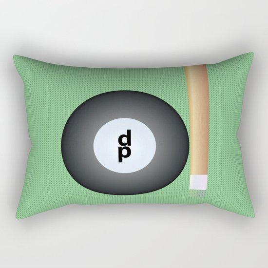 Do you want play billar? Rectangular Pillow