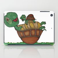 turtles iPad Cases featuring Turtles by BNK Design