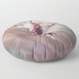 Ramen Alien Jesus Floor Pillow