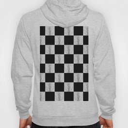 Checkerboard Pussy Hoody