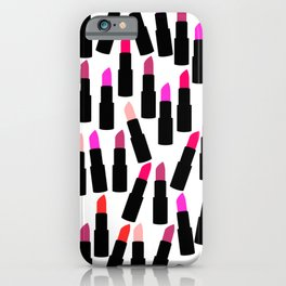 Cute Lipstick iPhone Case