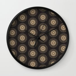 Vintage pattern 4 Wall Clock