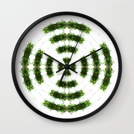 301 - Dancing Ferns Wall Clock