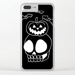 JackOLantern Clear iPhone Case