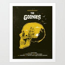 The Goonies art movie inspired Kunstdrucke