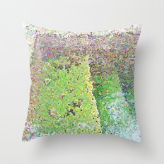 la alberca Throw Pillow