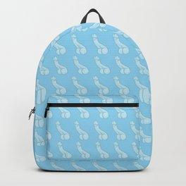 Pastel Blue Peens, Penis Repeat Backpack