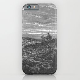 Gustave Doré - La Grande Bible de Tours (1866) 011 Abraham Journeying into the Land of Canaan iPhone Case