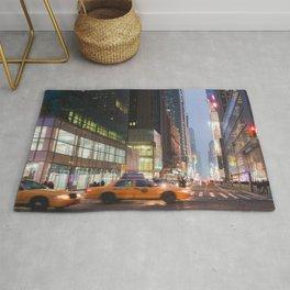 Midtown Rush - NYC Photography Rug