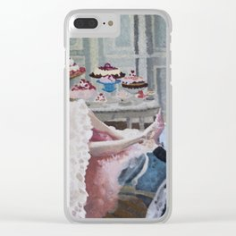 Deliriously Decadent Clear iPhone Case
