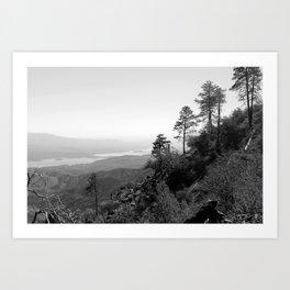 Roosevelt Lake Art Print