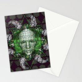 Cybernetic Stationery Cards
