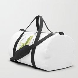 Edible Ensembles: Zuccini Duffle Bag