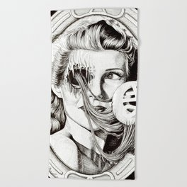 Scent of a Woman Beach Towel