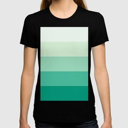 Pastel Green Stripes T-shirt