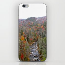 Fall Forest, Vertical iPhone Skin