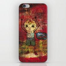 Give me skull iPhone & iPod Skin