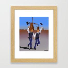 Netherland police Framed Art Print