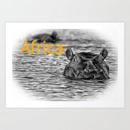 Africa IV Art Print