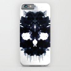 Rorschach skull dark iPhone 6s Slim Case
