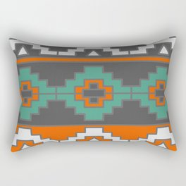 Tribal geometric adornment Rectangular Pillow