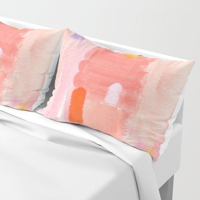Put Sorrows In A Jar - abstract modern art minimal painting nursery Pillow Sham