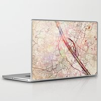 vienna Laptop & iPad Skins featuring Vienna by MapMapMaps.Watercolors