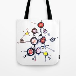 I'm Lost in my World Wide Web Tote Bag