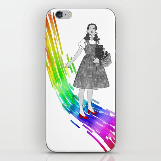 Somewhere over the rainbow iPhone & iPod Skin